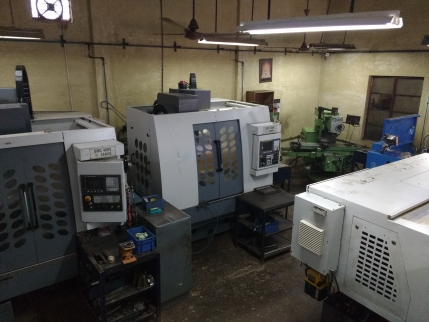 A Precision Component Manufacturing Unit For Sale In Bangalore